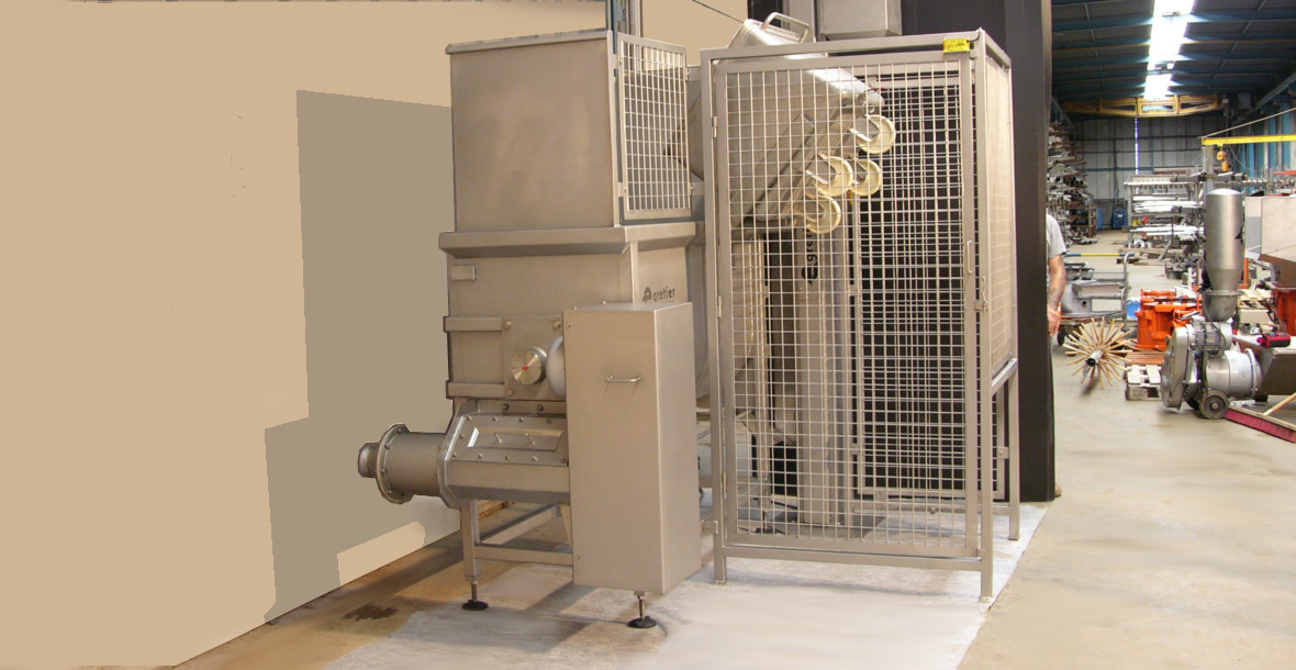 EGRETIER elevator lifter for food industry
