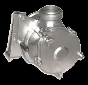 EGRETIER Bilobe volumetric pump closed