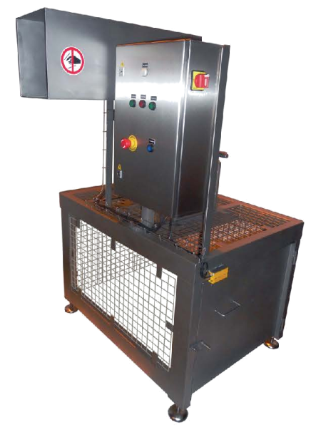 EGRETIER Shredder for food industry