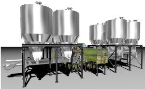 EGRETIER tanks for the food industry
