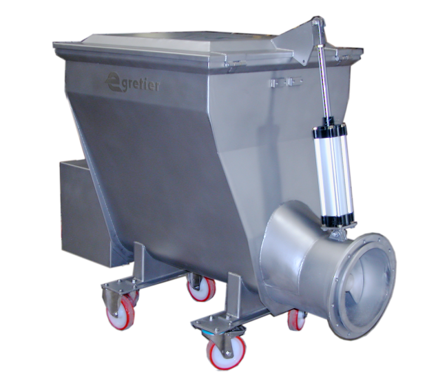 EGRETIER Hoppers for food industry
