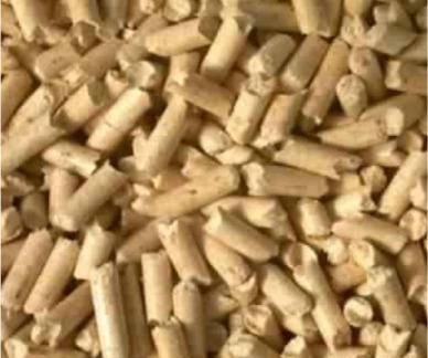 Pellets transferred by the EGRETIER diverter valve for food industry