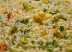 Risotto mixed in EGRETIER double ribbon mixer